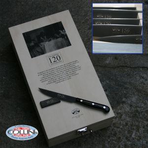 Berti - 120 - Cofanetto Centoventi manico nero lame pvd