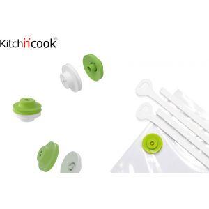 Kitch'n'cook - Kit per Sottovuoto Alimenti Vacu Click - 1001idee