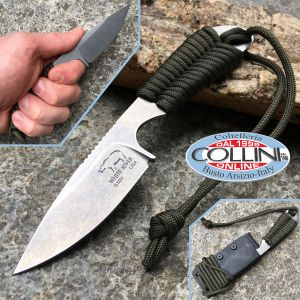 White River Knife & Tool - BackPacker - Green Paracord