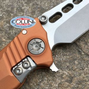 Guardian Tactical Usa - Helix Nano Two Tone Satin Orange - coltello, knife, cuchillo, messer, couteau