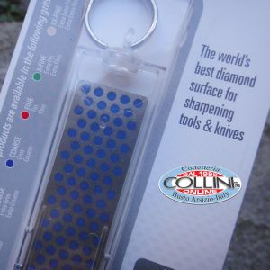 DMT - Affilatore Tascabile al Diamante - Blu Grana Media - accessori coltelli