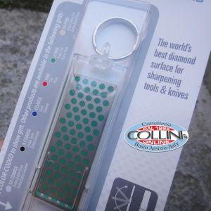 DMT - Affilatore Tascabile al Diamante - Verde Grana Extra Fine - accessori coltelli
