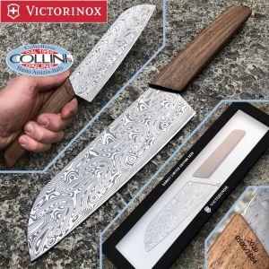 Victorinox - Santoku Swiss Modern LE 17cm in damascus - Limited Edition - 6.9050.17J20 - kitchen knife