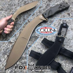 Fox - Extreme Tactical Kukri Knife - HNCF Bronze - FX-9CM04BT - coltello