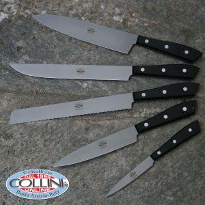 Berti - Set Compendio 5 pezzi cucina plexiglas ghiaccio lucido - coltelli