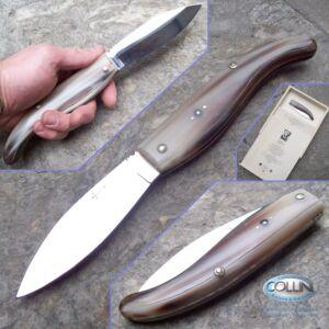Berti - Maremmano Magnum in Corno di Bue n.182 - coltello artigianale