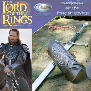 Museum Replicas Windlass - Aragorn Vambraces of Gondor