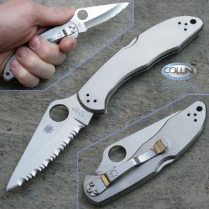 Spyderco - Delica 4 Stainless Steel SpyderEdge - C11S coltelli
