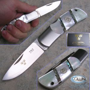 Fallkniven - TK3 - Mother of Pearl - coltello