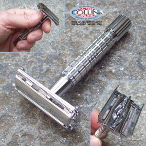Giesen & Forsthoff - Timor - Rasoio di sicurezza - cromato lucido 85mm. - 42091