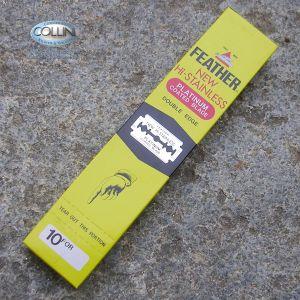 Feather - 200 Lame in acciaio inox per Shavette - lamette