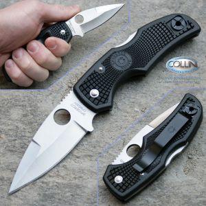 Spyderco, Native, Plain, Edge, FRN, C41PBK, coltello