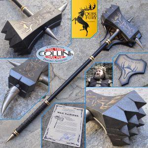 Valyrian Steel - Martello da guerra di Re Robert Baratheon - Il Trono di Spade - Game of Thrones