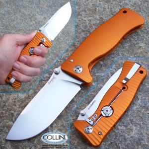Lion Steel - SR-1AO - Ergal Arancione - coltello