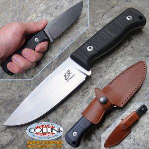 Knife Research - Rasul - Nero Stone Wash coltello