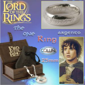 Lord of the Rings, Anello del potere in argento 22mm