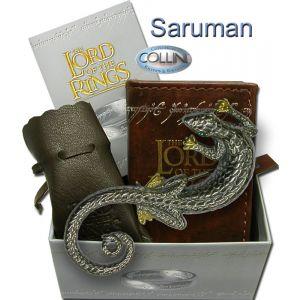 Lord of the Rings - Spilla di Saruman R223.40 - Argento 925 - Il Signore degli Anelli