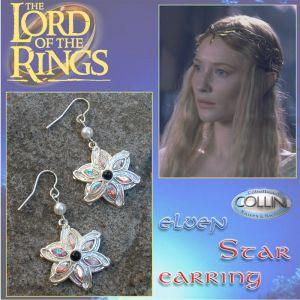 Lord of the Rings - Orecchini di Galadriel - Stella Elfica 720.45 - Il Signore degli Anelli