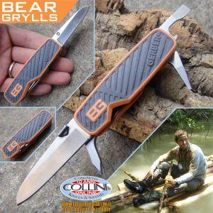 Gerber, G01050, Bear Grylls Pocket Tool, coltello multiuso