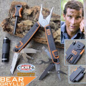 Gerber - G01047 - Bear Grylls Tool, Fire Starter & Flashlight - pinza multiuso