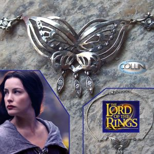 Lord of the Rings - The Arwen Butterfly Necklace - Il Signore degli Anelli