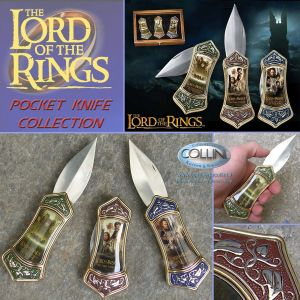 Lord of the rings - Trilogy Pocket Knife Collection - Il Signore degli Anelli