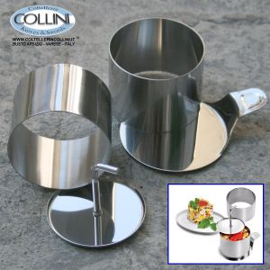 Made in Italy  - Dough cutter, stainless steel blade flexible, plastic handle