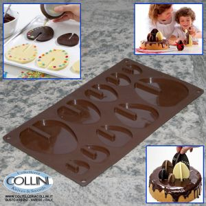 Lékué - Easter 3D molds for chocolate - Egg silicone