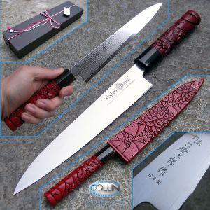 Tojiro - Wa-Urushi Murakami Yanagiba 21cm - coltello artigianale per pesce