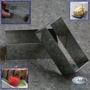 Stadter - Set 2 pezzi per impiattare rettangolare