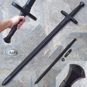 Cold Steel - Spada Medievale a 2 Mani in Polipropilene - 92BKHNH - Allenamento