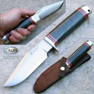 BlackJack - Trailguide - Black Micarta coltello