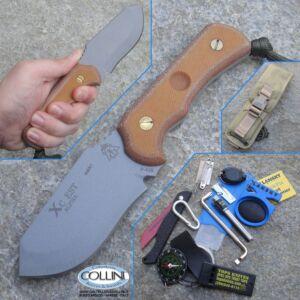 TOPS - Xc Est Alpha Knife + Survival Kit coltello