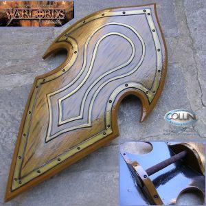 Warlords - Elven Battle Shield - armi in lattice