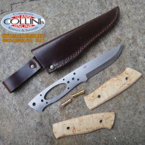 EnZo - Kit Trapper 95 - O1 - Curly Birch - 2150 coltello