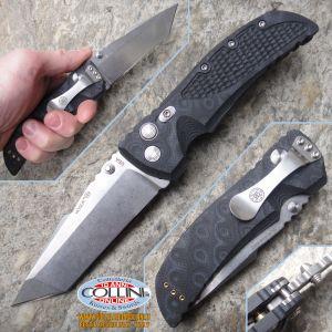 "Hogue - EX-01 4"" Folding Tanto Point Stonewash - G-10 coltello"