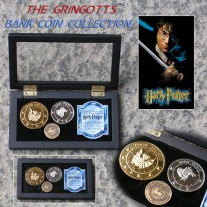 Harry Potter - Le Monete della Gringott's Bank