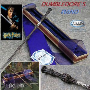Harry Potter - Bacchetta Magica di Albus Silente con scatola di Olivander