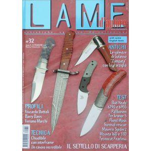 Lame d'autore - Numero 32 - Ottobre/Novembre/Dicembre 2006 - rivista