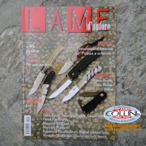 Lame d'autore - Numero 45 - Luglio - Anno 2009  - rivista