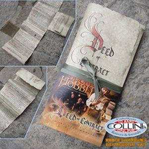 The Hobbit - Bilbo Baggins Contract - prodotto ufficiale