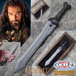 The Hobbit - Thorin Oakenshield sword in miniatura apri lettere - prodotto ufficiale