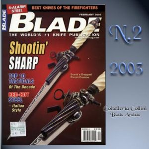 Rivista - Blade - Febbraio 2003 - °RC