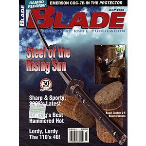 Rivista - Blade - Luglio 2003 - °RC