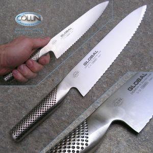 Global knives - G22R - Bread Knife - 20cm - kitchen knife - right-handed