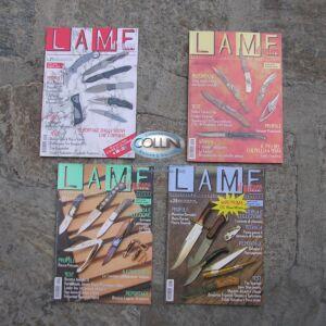 """Pacchetto 4 riviste """"Lame D'Autore"""" collezione 2005"""