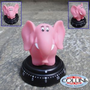 Bengt Ek Design - Kitchen Timer with Pink Elephant Design