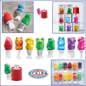 Zoku - Ice Pop Mold - figure assortite assortiti