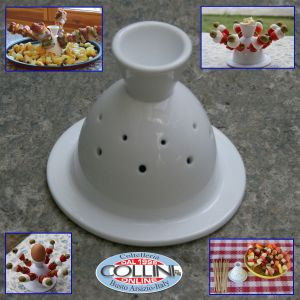 Made in Italy -  Pepita Chef made of porcelain