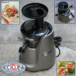 Kuvings - Silent Juicer 850SC Silver - Centrifuga ed estrattore